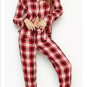 Victoria's Secret Sexy Flannel Plaid Pajamas NWT